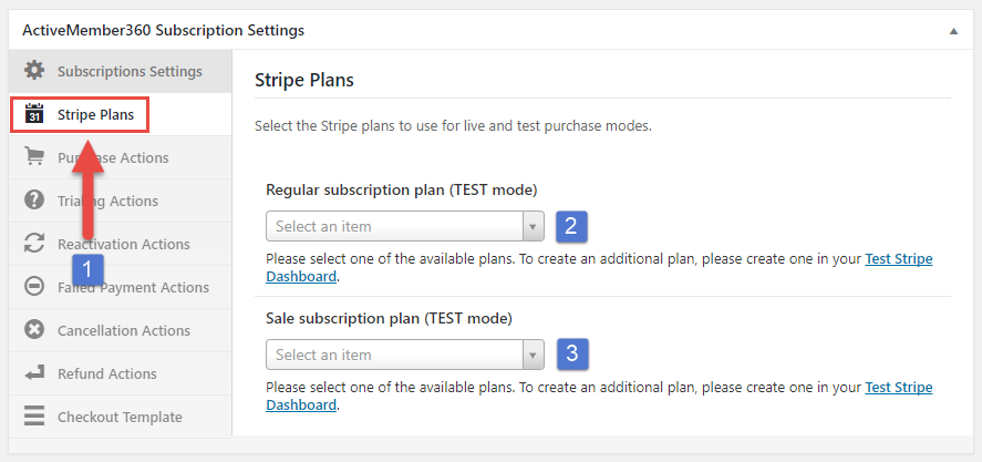 Payment Extensions Create a Subscription Step 3