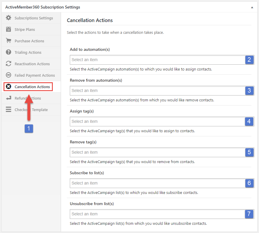 Payment Extensions Create a Subscription Step 8